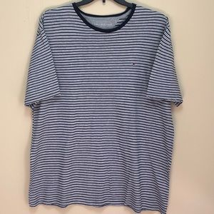 Tommy Hilfiger Striped Short Sleeve T-shirt   0119